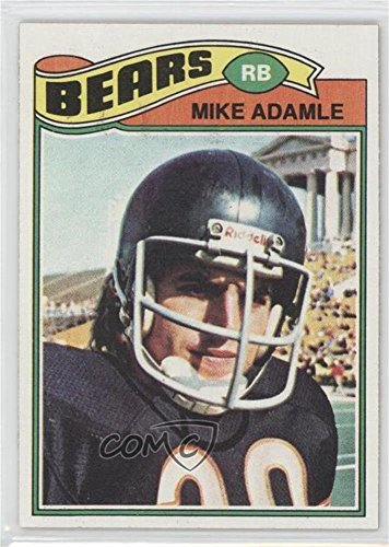 Mike Adamle  Football Card  1977 Topps    Base   481