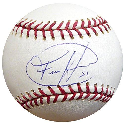 - Felix Hernandez Autographed Official MLB Baseball Seattle Mariners Beckett BAS #E46460
