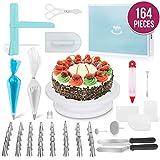 JHKJ 164 -Piece Cake Turntable Set Baking Tool DIY Tool Cake Decorating Kit Supplies