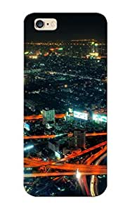 Iphone 6 Plus Case Slim [ultra Fit] City Life At Night Protective Case Cover(best Gift Choice For Friends)