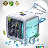 YACHANCE Personal Space air Cooler Portable air Conditioner Fan evaporative Cooler Desk Fan Mini Small ac Unit Cooling Fan Swamp USB Desktop Cooling Fan