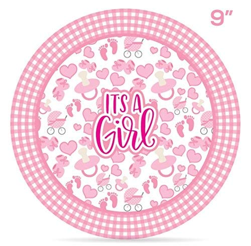 Buy twins baby shower plates