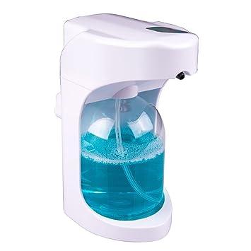 senkit Touchless Auto Dispensador de jabón Ideal para Cocina y Baño Agua Mezclador Champú handwashing líquido plástico ABS), color blanco: Amazon.es: Hogar