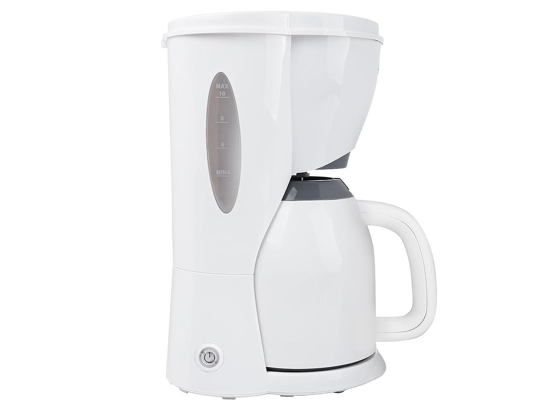 Tristar CM-1243 Cafetera Eléctrica, 900 W, 1 Liter, Blanco: Amazon.es: Hogar