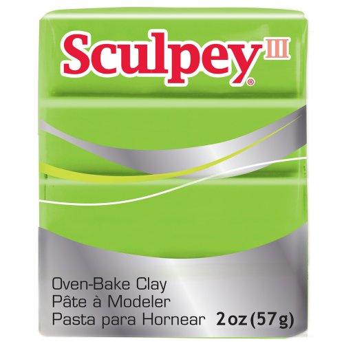 (Sculpey III Polymer Clay 2 Ounces-Granny Smith)