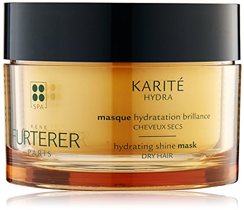 Rene Furterer KARITE HYDRA Hydrating Shine Mask, Normal to Dry Hair, Moisturizing, Shea Oil,  6.9 oz.