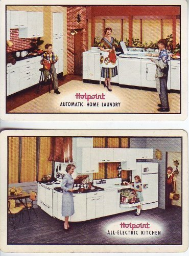 2 Single Swap Hotpoint Advertising Playing Cards