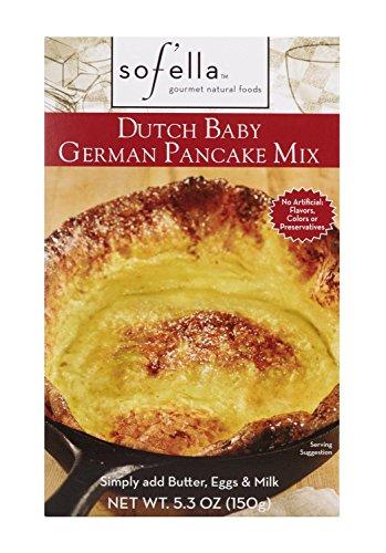 Sof'ella All Natural Dutch Baby German Pancake Mix 5.3oz (Pack of 1)