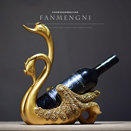 Swan wine frame ornaments European style entrance modern household living room decor furnishings Home Furnishing American wine zj01251108 by Supper pp