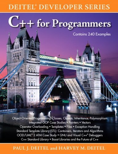 C++ for Programmers 1st edition by Deitel, Paul, Deitel, Harvey M. (2009) Taschenbuch