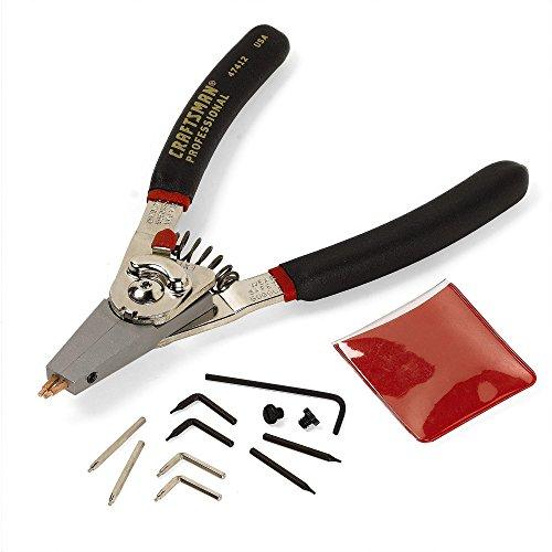 Craftsman Professional Retaining Ring Pliers, Internal/External, 9-47412