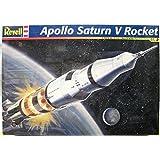 apollo saturn v rocket 1/144 scale model kit by Monogram