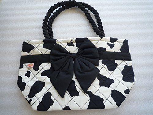 Thaishop of bowtie handbag with of made Thaishop lady handbag cotton Ariyas made Ariyas lady cotton CtAnxqZW