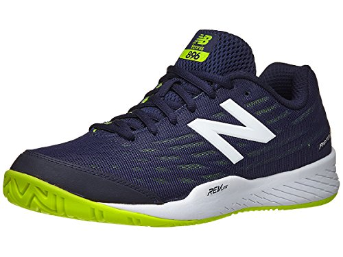 New Balance Men's 896v2 Hard Court Tennis Shoe, Navy, 12 D US
