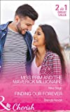 download ebook miss prim and the maverick millionaire: miss prim and the maverick millionaire (9 to 5, book 57) / finding our forever (silver springs, book 1) pdf epub