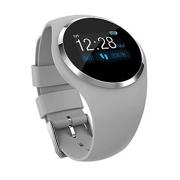 Winkey Reloj inteligente con rastreador de actividad, resistente al agua, reloj inteligente, rastreador