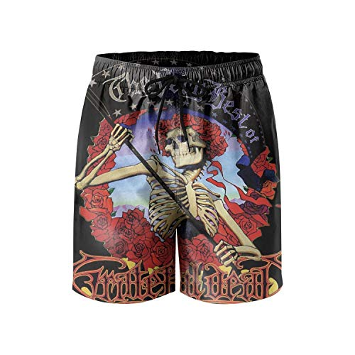 MMBHYJ Mens Board Shorts Grateful-CD-Dead-Artist-The-Very-Best- Quick Dry Cool ()
