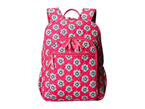 Vera Bradley Campus Backpack, Pink Swirls Flowers