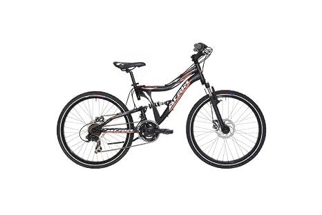 Bicicletta Da Bambino Atala Crossfire Md Colore Nero Neon Arancio