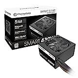 Thermaltake Smart 430W 80+ White Continuous Power ATX 12V V2.3/EPS 12V Active PFC Power Supply PS-SPD-0430NPCWUS-W