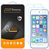 [2-Pack] Supershieldz for Apple iPod Touch (5th / 6th Generation) Tempered Glass Screen Protector, Anti-Scratch, Bubble Free, Lifetime Replacement Warranty