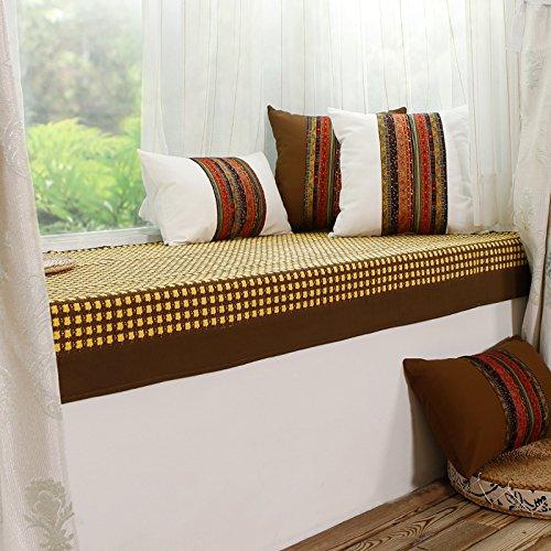 GX AI YY New Day®-Pad Pastorale del sofà Finestra Panno stuoia di Tatami Cuscini, 90  150cm