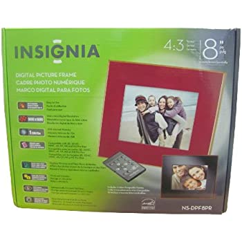 Insignia Digital Picture Frame 8 inch 1GB