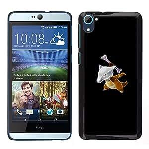 EJOY---Cubierta de la caja de protección la piel dura para el / HTC Desire D826 / --Marowak P0kemon