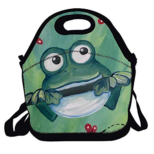 Bag For Men Women Adults Kids Toddler Nurses With Adjustable Shoulder Strap - Best Travel Bag - Trippy Tree Frog
