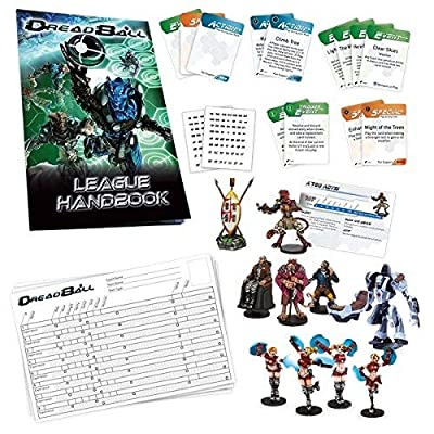 Dreadball: 2nd Edition Galactic Tour Expansion: Toys & Games
