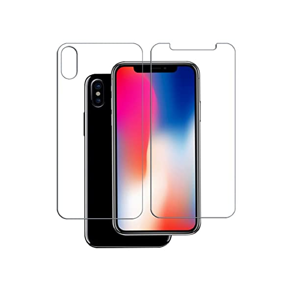 Giveaway iphone x tempered glass front and back