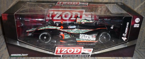 Jr Indy Car (Greenlight 1:18 Jr Hildebrand #4 Panther Racing National Guard Indy Car)