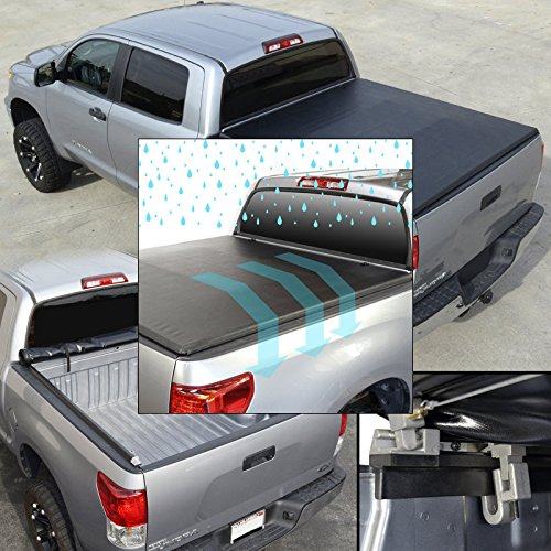 For Ford F250 350 450 99-07 SD All Cab 6.5 ft Bed Roll-Up Soft Tonneau Cover