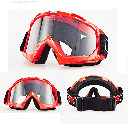 Fans Skiing motorcycle goggles, anti-twist anti-drop UV dustproof windproof safety neutral glasses for snow skiing, cycling, rock climbing, horse riding and outdoor sports glasses goggles (Thor Force 2 Helmet)