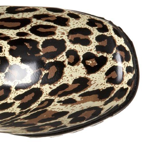 Rain Women's Boot Leopard Tan Puddles Nomad nqBCw8A8