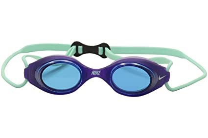 5fe5f9dfee47 Amazon.com   Nike Swim Hydrowave II Jr Goggles (Blue)   Sports ...