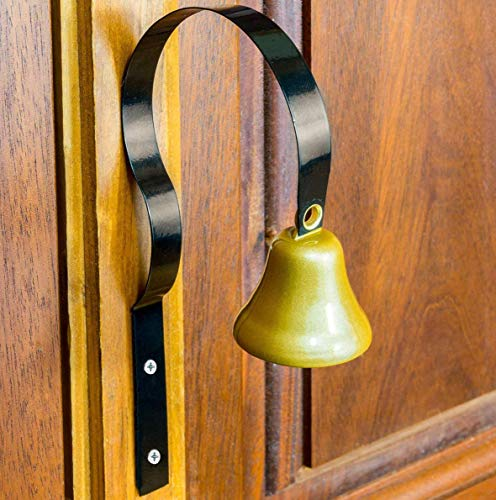 Bell Entry - Lanier Shopkeepers Bell - Don't Let Another Customer Slip Out (Black)