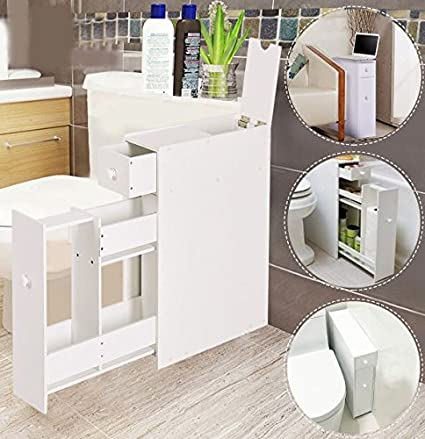 Amazon.com: K&A Company Storage Organizer Cabinet Bathroom Toilet ...