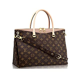 13. A Monogram Canvas Pallas Handbag (Dune) by Louis Vuitton