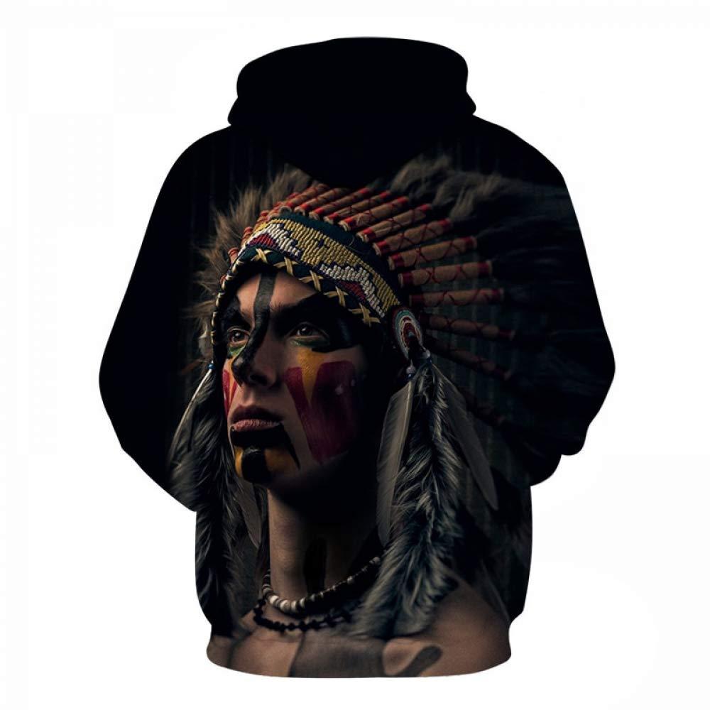 FimGGe Native American Printed Hoodies Men Sweatshirts 3D Hoody intage Tracksuits Harajuku Coat Fashion Pullover Autumn