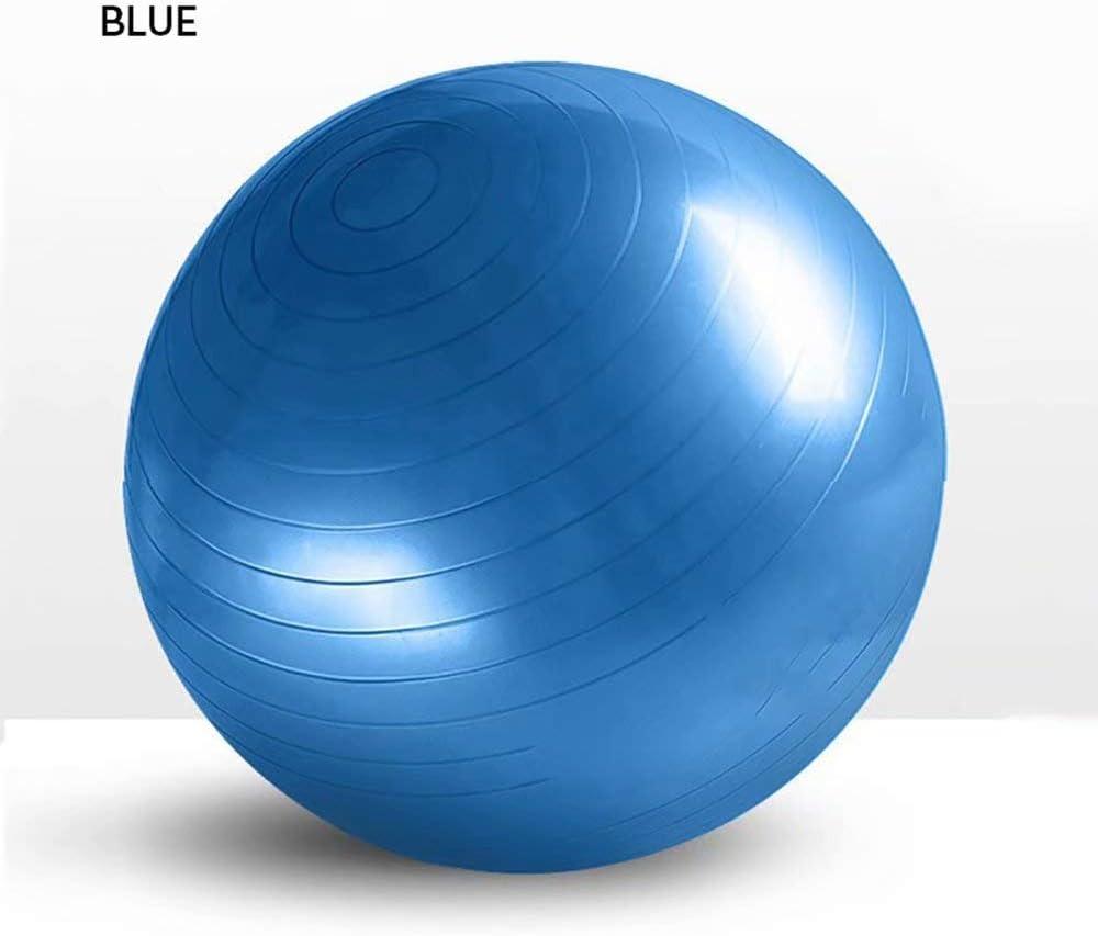 HIFUAR Palla Fitness con Pompa per Allenamento Yoga /& Pilates Core,Palla Yoga Anti Scoppio Anti Scivolo 55cm 65cm//75cm//85cm