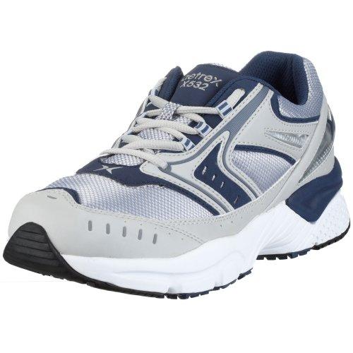Apex Men's Rhino Runner Athletic Sneaker, Blue, 13 Wide US