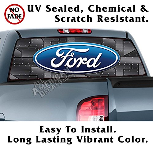 ford back window decal - 5