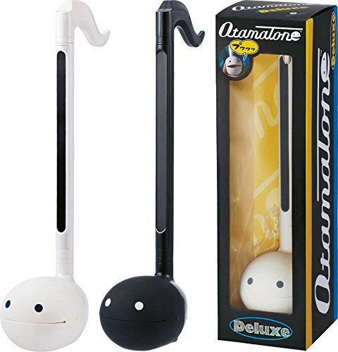 Otamatone ''Deluxe'' [English Edition] Electronic Musical Instrument Portable Synthesizer from Japan by Cube / Maywa Denki, Black by Otamatone (Image #6)