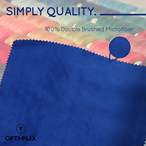 Eyeglass Cleaner Microfiber Cloth - Glasses Cleaner For All Gentle Surfaces, Touchscreens, Smartphones, Camera Lenses, LCD & HD Screens -Dark Green, 8 Pack- By OptiPlix