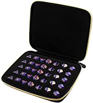 Dice Case Compatible with DND Dice Set, Roleplaying Game as Dungeons and Dragons, Display Your Favorite 7 Piec