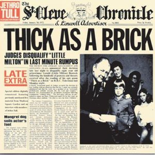 Thick As a Brick by Wea Japan