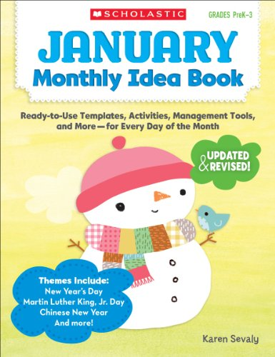 January Monthly Idea Book: Ready-to-Use Templates, Activities, Management Tools, and More - for Every Day of the Month ()