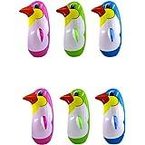 STOBOK 3Pcs Inflable pingüino Juguete pingüino Vaso para Piscina ...