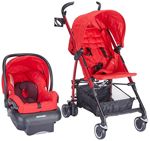 Maxi-Cosi Kaia and Mico NXT Travel System, Intense Red